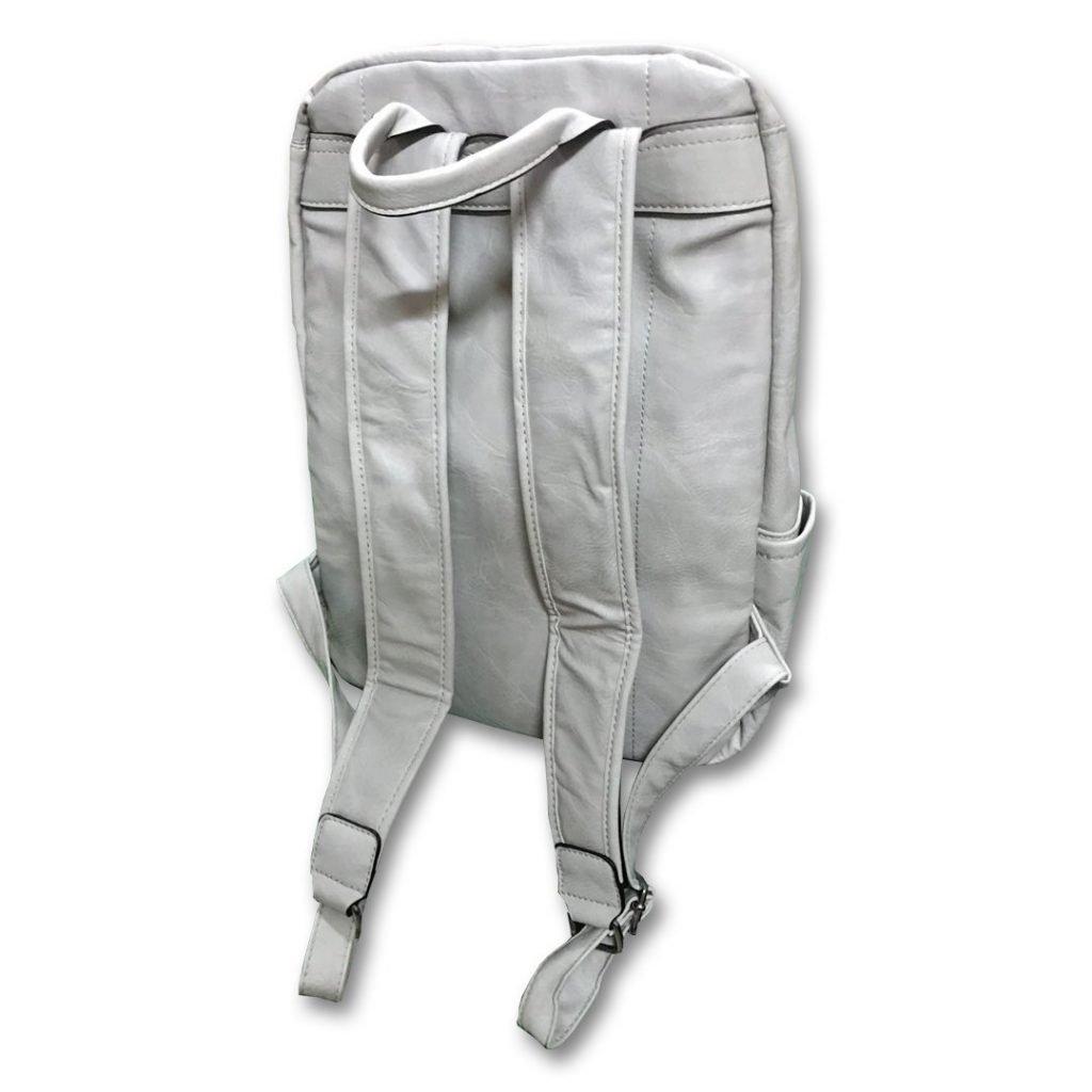 Zaino in similpelle modello Leather Backpack