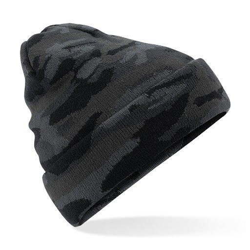 Cappello invernale modello Beanie Camouflage