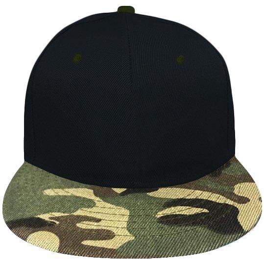 Cappello Snapback modello Camouflage